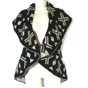 New Directions Reversible Open Front Sweater Shrug